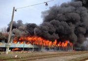 Bistriţa-Năsăud: Incendiu la un vagon de tren în Sîngeorzu Nou. Pasagerii s-au evacuat