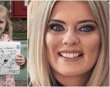 O fetiță de 4 ani i-a trimis mamei moarte o scrisoare! Este sfâșietor ce răspuns a primit