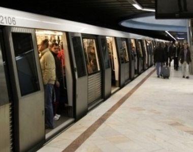 Alertă la metrou, în stația Ștefan cel mare! Un bărbat a fost lovit de tren