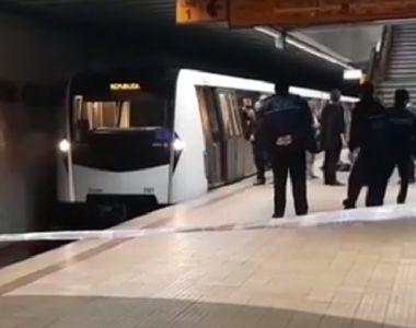 """S-a aflat cine este tânărul care s-a aruncat duminică în fața metroului! """"Doar am..."""
