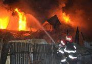 Incendiu cumplit, la Iași! Un copil  a fost declarat mort