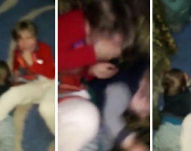 VIDEO| Scandal pentru custodia celor doi copii din Galați bătuți de tată! Mama și...