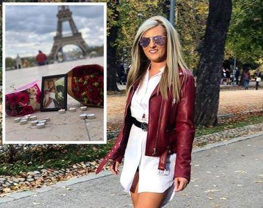 Ce-a zis Andreea, românca moartă de la Paris, înainte să cadă în gol 12 metri, în timp...