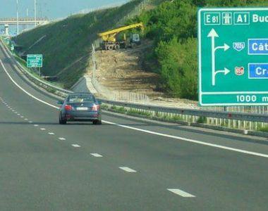 Restricţii de circulaţie pe Autostrada Soarelui, în zona localităţii Fundulea, pentru...