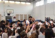 VIDEO   In Saptamana Altfel fostii concurenti de la Exatlon au adus zambetul pe buze a zeci de elevi!