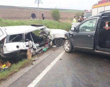 Două persoane au murit în urma unui accident DEVASTATOR petrecut în județul Alba!