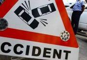 Accident cu un mort şi trei răniţi în Prahova. Șoferul unei dube a pierdut controlul volanului