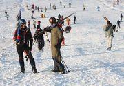 VIDEO | Distractia de iarna este in toi la cota 2000 din Sinaia. Acolo, zapada, atinge si doi metri!