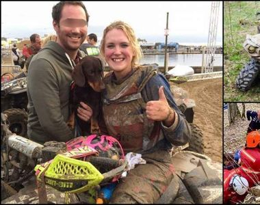 O britanică de 28 de ani, strivită de ATV la Cluj