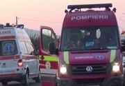Autocar, cu 55 de pelerini la bord, lovit frontal de o maşină condusă de un şofer băut