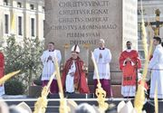 """Un român în port popular a citit """"Rugăciunea universală"""" la slujba de Florii ţinută de Papa Francisc la Vatican"""