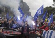 Proteste violente în Albania faţă de regimul prim-ministrului Edi Rama