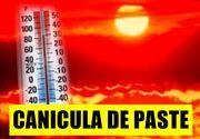 Temperatură record de Paște. Caniculă și 36 de grade în România