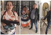 Petrecere cu mitraliere și pistoale, transmisă LIVE pe Facebook de către o familie de romi din România! Poliția a intrat pe fir