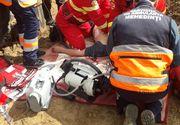Un mort și o persoană inconștientă după ce un mal de pământ a căzut pe ei! Totul s-a petrecut în județul Mehedinți