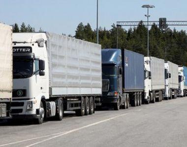 Din cauza controalelor mai amanuntite de la Vama, transportatorii ameninta cu proteste!