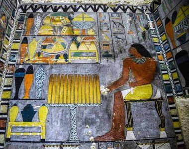 Egipt. Mormântul unui demnitar datând de peste 4.400 de ani a fost descoperit în situl...