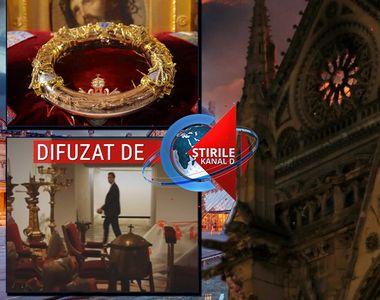 VIDEO| Operele de artă evacuate din catedrala Notre-Dame de Paris vor fi transferate la...