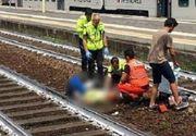 O româncă s-a aruncat în fața trenului în Italia