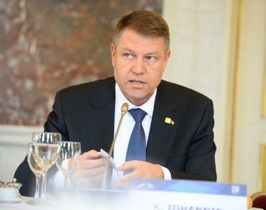 """Klaus Iohannis reclamă la CCR legea privind Strategia naţională pe termen lung """"România..."""