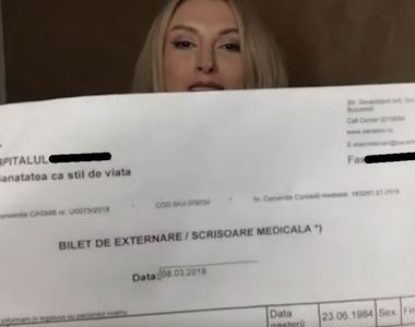 Andreea Bălan a suferit pierderi de memorie după prima operație! Detalii teribile din...