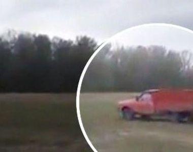 VIDEO | Barbat lovit intentionat cu masina de un tanar cioban. Imagini socante