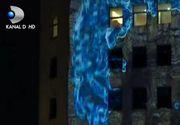 VIDEO   Bucurestiul, capitala luminilor. Proiectii spectaculoase la festivalul Spotlight