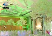 VIDEO | Decoruri inedite pentru saloanele de nunti