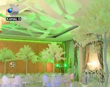 VIDEO   Decoruri inedite pentru saloanele de nunti