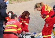 VIDEO   Bărbat căzut în Dâmbovița. A fost adus la mal de un paramedic SMURD