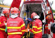 VIDEO | Un microbuz de transport persoane s-a răsturnat; 11 persoane au fost rănite, două fiind inconştiente