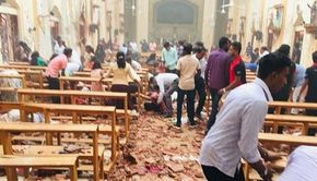 Zeci de morţi şi sute de răniţi în Sri Lanka. Au avut loc şase explozii la biserici şi hoteluri