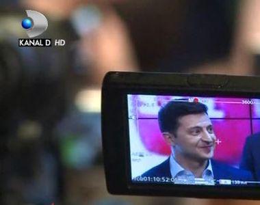 VIDEO | UCRAINA. Volodimir Zelenski, de la președinte în film la sef de stat in viata...