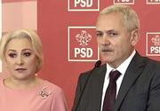 Viorica Dăncilă, întâlnire neprogramată cu Liviu Dragnea la Parlament