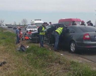 Soţ şi soţie morţi la Buzău, după ce bărbatul de 80 de ani a întors pe linie continuă,...