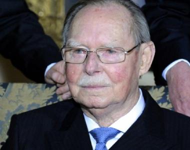 Marele Duce Jean de Luxemburg, decedat la vârsta de 98 de ani