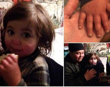 VIDEO | Momentul în care polițiștii o găsesc pe fetița dispărută