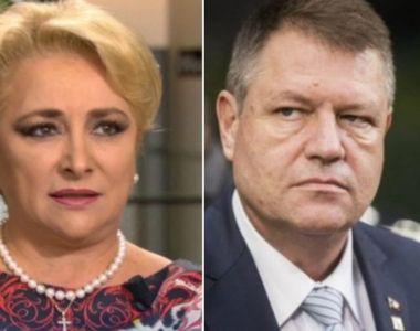 """Klaus Iohannis îi face pe plac Vioricăi Dăncilă! Anunț de ultimă oră: """"Miniştri..."""