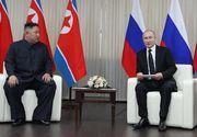 """Vladimir Putin afirmă că a avut o discuţie """"amănunţită"""" cu Kim Jong-un"""