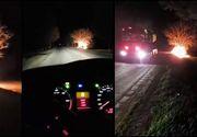 Accident teribil in Vinerea Patimilor, transmis Live pe Facebook! Un şofer a ars de viu
