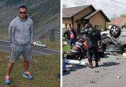 Poliţist pe motocicletă, mort după un cumplit accident în Argeş