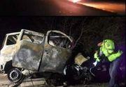 Cine este șoferul care a ars de viu la Truşeşti! Avea doar 23 de ani, iar modul cumplit în care a murit a fost transmis Live pe Facebook