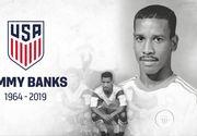 Fostul internaţional american Jimmy Banks a decedat la vârsta de 54 de ani