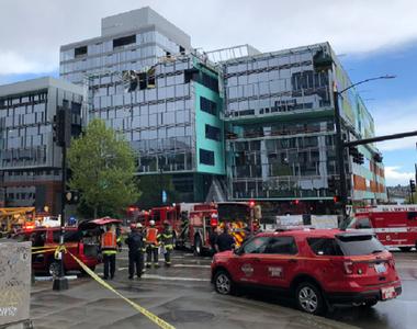 Patru morţi şi patru răniţi la Seattle, după ce o macara s-a prăbuşit