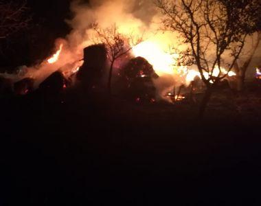 I-au dat foc la casă în Noaptea de Înviere. Bătrâna de 68 de ani, fără acoperiș...