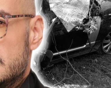 Primele imagini de la locul accidentului în care Răzvan Ciobanu a murit