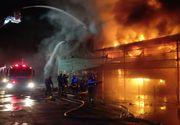 VIDEO | Imagini de la incendiul urias din Tulcea