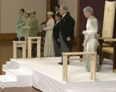 VIDEO   Domnia lui Akihito, la final. Cine ii ia locul pe tronul Japoniei
