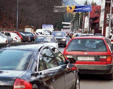 VIDEO |  Vacanta petrecuta in trafic. Haos pe drumurile din Romania