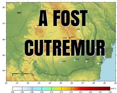 Cutremur cu magnitudinea 4,2 grade, în judeţul Sălaj